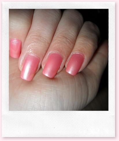 lakje roze glitters 004